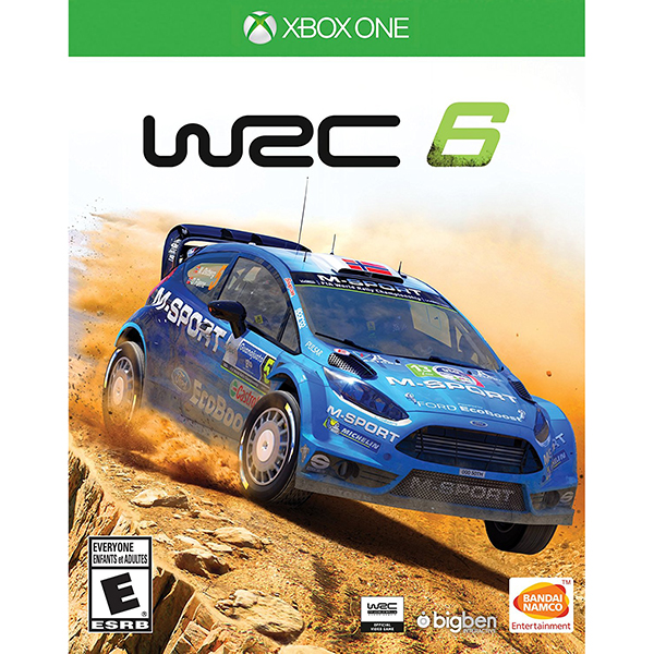 بازی WRC 6: World Rally Championship مخصوص XBOX ONE